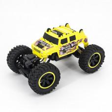 Радиоуправляемый краулер Hummer H2 Yellow 1:14
