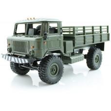 Радиоуправляемая грузовая машина WPL Газ 66 Зеленый 1:16