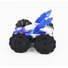 Радиоуправляемая машина-перевертыш амфибия YED Blue Aqua Stunt