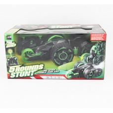 Радиоуправляемая машина Перевертыш 5 Rounds stunt зеленый
