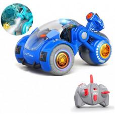 Радиоуправляемая трюковая машина Virus Hunter (пар, звук) Blue