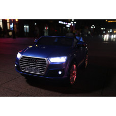 Электромобиль AUDI Q7 Blue LUXURY