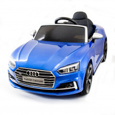 Электромобиль AUDI S5 Cabriolet Blue 2WD