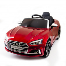 Электромобиль AUDI S5 Cabriolet Red 2WD