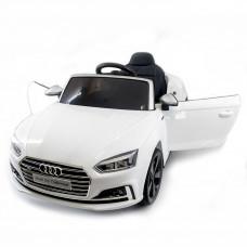 Электромобиль AUDI S5 Cabriolet White 2WD