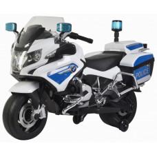 Детский полицейский электромотоцикл BMW R1200RT-P White