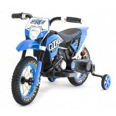 Детский кроссовый электромотоцикл Qike Blue