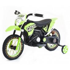 Детский кроссовый электромотоцикл Qike Green