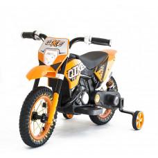 Детский кроссовый электромотоцикл Qike Orange