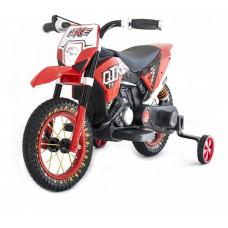 Детский кроссовый электромотоцикл Qike Red