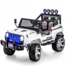 Электромобиль Jeep White 4WD