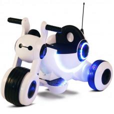 Детский электромотоцикл HL300 White
