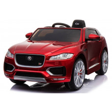 Электромобиль Jaguar F-pace Red