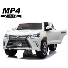 Электромобиль Lexus LX570 White 4WD MP4