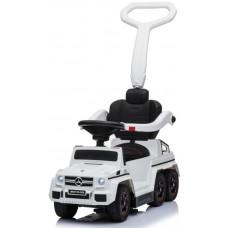 Каталка-электрокар Mercedes-Benz G63 AMG 6x6 White