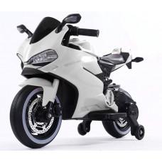 Детский электромотоцикл Ducati White FT-1628