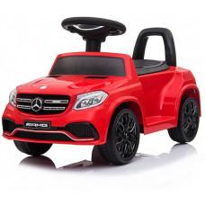 Электромобиль каталка Mercedes-AMG GLS63 Red + пульт управления