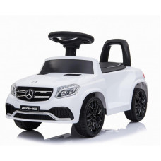 Электромобиль каталка Mercedes-AMG GLS63 White + пульт управления
