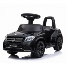 Электромобиль каталка Mercedes-AMG GLS63 Black + пульт управления