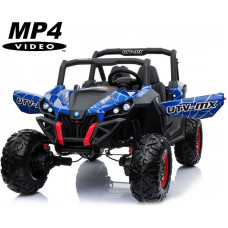 Двухместный полноприводный электромобиль Buggy Blue Spider UTV-MX MP4