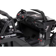 Двухместный полноприводный электромобиль Black Carbon UTV-MX Buggy 4WD