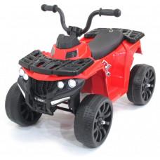 Детский квадроцикл R1 на резиновых колесах - 3201-RED