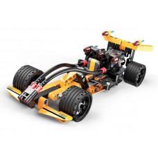 Конструктор CaDA Technic гоночный болид совместим с C52002W, инерционный (159 деталей)