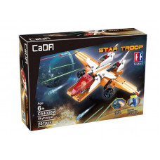 Конструктор CaDA Technic звездный истребитель (287 деталей)