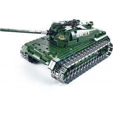Радиоуправляемый конструктор танк QiHui Technics 4CH 2.4G 453 деталей - QH8011