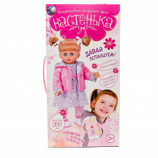 Интерактивная кукла Настенька, ходит и танцует, + мобильное приложение MY081
