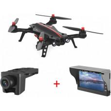 Радиоуправляемый квадрокоптер MJX Bugs 8 + FPV экран и камера