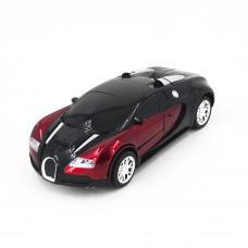 Радиоуправляемый робот-трансформер зверь Bugatti Veyron Red 1:14