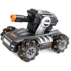 Радиоуправляемый дрифт танк-робот (пульт + часы) - QR2076-ORANGE