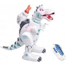 Радиоуправляемый интерактивный динозавр, стреляет ракетами + дышит паром - ZYB-B2981