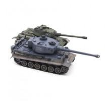 Радиоуправляемый танковый бой T34 и Tiger 1:28