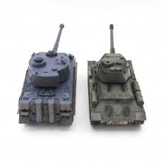 Радиоуправляемый танковый бой T34 и Tiger - 99824