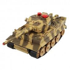Радиоуправляемый танковый бой HuanQi Tiger и Abrams 1:24