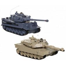 Радиоуправляемый танковый бой TIGER vs Abrams - 99822