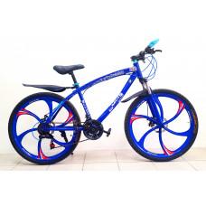 Велосипед BMW Blue на литых дисках