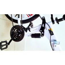 Велосипед Land Rover White на литых дисках с 6 лучами