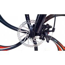 Велосипед Porsche Black на литых дисках с 6 лучами