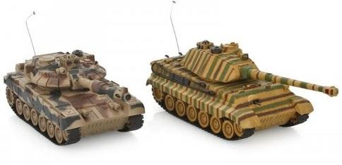 модели радиоуправляемых танков
